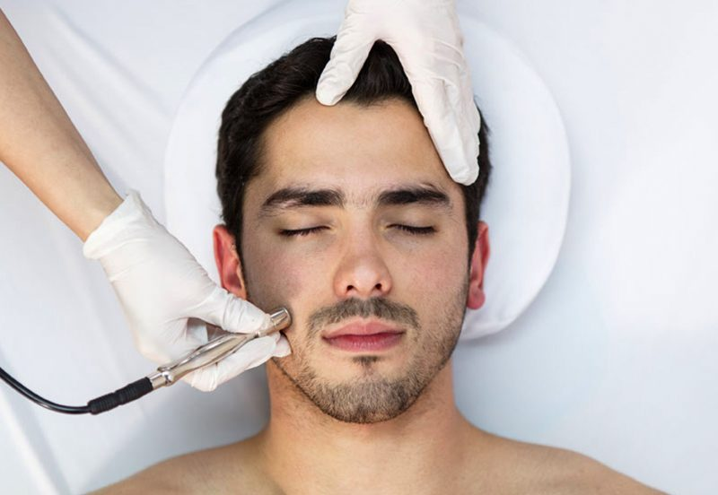 microdermabrasion men 800x552 - Aesthetics