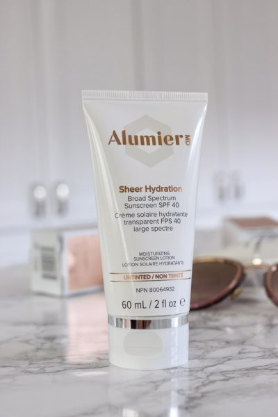 Alumier MD Skin Care Sunscreen sheer hydration beauty blog blogger fashion Chantsy 400x600 - Blog