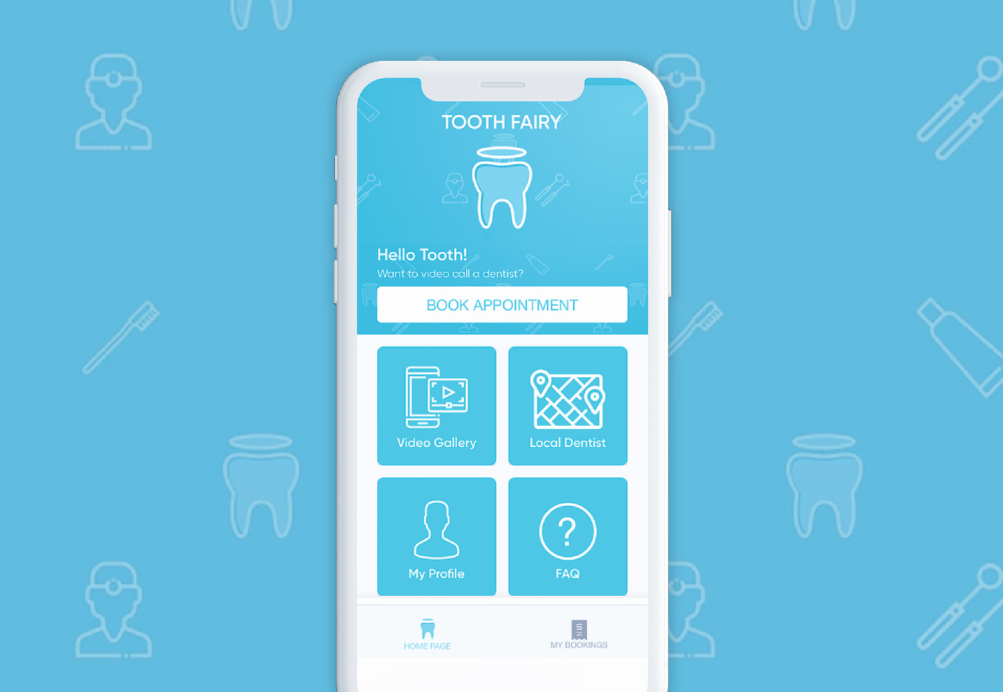 Tooth fairy page - Tooth Fairy