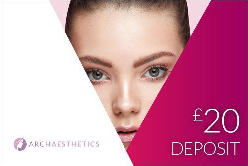 20 DEPSOSIT 500x334 - £20 Treatment Deposit