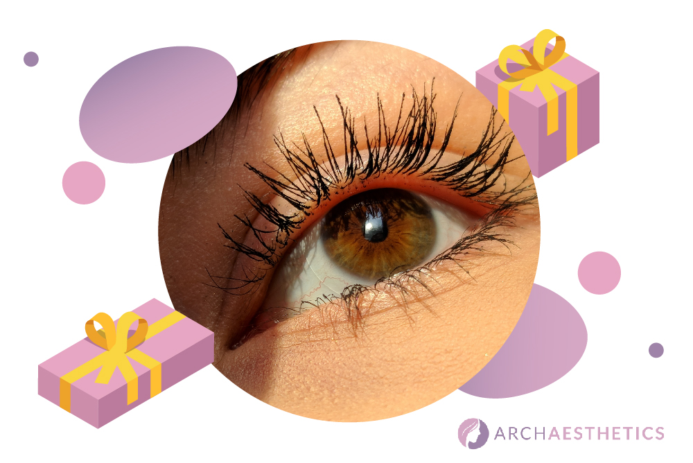 eye lashes - 5 gift ideas for your other half this Christmas